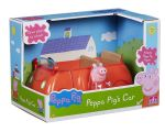 Peppa Pig RED FAMILY CAR - Push Along Vehicle